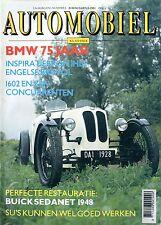 1991 HET AUTOMOBIEL MAGAZIN 6 BMW 1602 BUICK SEDANET 1948 MAZDA 1800 BMW Z1