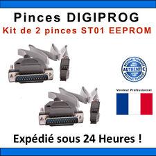 Kit de 2 Pinces ST01 DIGIPROG - EEPROM DIGIPROG ST01 PRO CLIPS - TACHO PRO