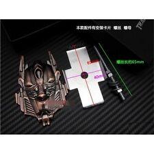 Car Metal Front Grille Emblem Badge Transformers Autobots Optimus Prime Copper
