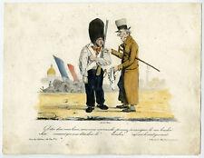 Rare Antique Print-SATIRE-PARIS-REVOLUTIONARY-DIRECTIONS-Pannetier-1832