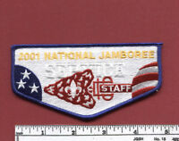 2001 National Boy Scout Jamboree OA Service Corps STAFF Flap
