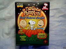 IT'S THE GREAT PUMPKIN Charlie Brown **Empty Box,snoopy,linus,peanuts,halloween