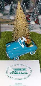 """VINTAGE Dollhouse Miniature Murray Champion Kiddie Car Classic 2""""In Tiny Gift"""