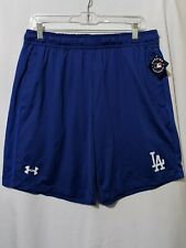 NWT Under Armour MLB Los Angeles Dodgers Mens Performance Running Shorts Sz L