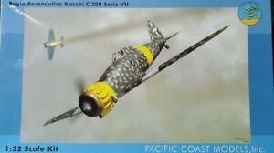 PACIFIC COAST MODELS 1/32 Regia Aeronautica Macchi C.200 Serie VII kit#PCM32001