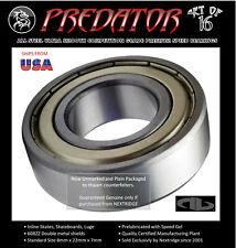 16 Skate Bearings PREDATOR Inline, Skateboard, Luge 608 608ZZ 608Z 608-2Z 8x22x7