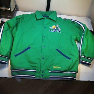 STALLS & DEAN WHA Minnesota Fighting Saints ICE HOCKEY JACKET Mens 5XL BIG nhl