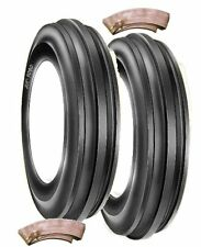 Tractor Front Tyre's 600 x 16 3Rib  BKT  Pair with tubes