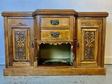 More details for a rare & beautiful 110 year old edwardian antique credenza sideboard. c1900