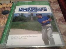 Il funzionario David Leadbetter GOLF Academy CD-ROM Nuovo E Sigillato Coaching