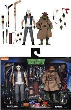 """NECA Teenage Mutant Ninja Turtles Casey Jones & Raphael 7"""" Action Figure 2 Pack"""