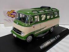 """Schuco 02917 # Mercedes-Benz O319 Baujahr 1967 in """" grün-cremweiß """" 1:43 NEU"""