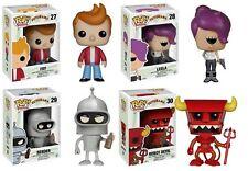 Futurama POP! Vinyl Figures Set of 4 - Robot Devil, Fry, Bender, Leela