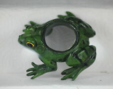 11cm FROG MAGNIFYING GLASS - USEFUL DESKTOP GIFT - READING - STAMPS - CRAFTS