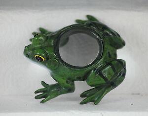 11cm FROG MAGNIFYING GLASS - USEFUL DESKTOP GIFT - READING - STAMPS - CRAFTS