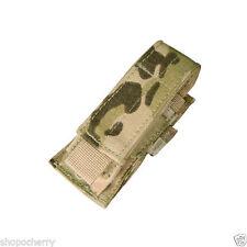 Condor MA32 Single Pistol Mag Pouch Multicam - Tactical clip Molle
