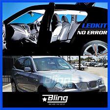 #81 20pcs BMW E83 X3 2004-2010 White LED Lights Interior Package Kit CANBUS