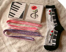 New Listing2 Boxes of Musical Notecards Free Stuff Too! Keyboard Piano Organ Value!