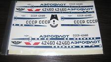 Tupolev Tu-104A Aeroflot 80th 1/100 for VEB Plasticart