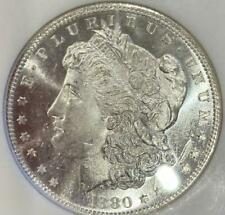 1880-S Morgan Dollar Silver $1 MS 64 NGC