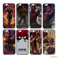 """Deadpool Coque/Étui/Case Apple iPhone 6/6s (4.7"""") / Protecteur D'écran / 3D Gel"""