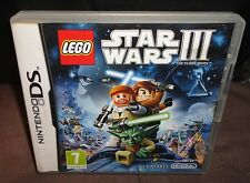 LEGO STAR WARS III CLONE WARS Nintendo DS GAME