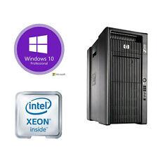 Workstation HP Z800 2x Xeon de 12 núcleos X5670 32GB 256GB 1TB Quadro K2000 4x LFF