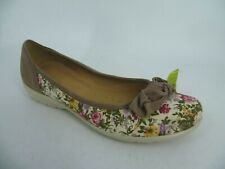 Hotter JEWEL Bow Pump Vintage Floral UK 6 EU 39 Ln181 Al 08
