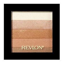 Maquillage à poudre compacte en bronze sans paraben pour le teint
