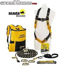 New Beaver B-Safe Tradie Roofers Safety Harness Kit- AS/NZS1891.1- BK061215TRAD