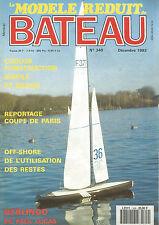 MODELE REDUIT DE BATEAU N°349 COQUES CONSTRUCTION / OFF-SHORE / BERLINGO