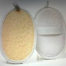 1 X LOOFA EXFOLIATING MITT WITH HAND STRAP For Dry Skin Brushing