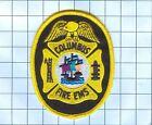 Fire Patch - Columbus Firte Ems -yellow/black