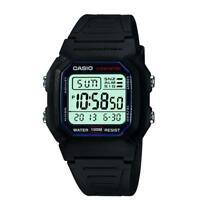 Casio Classic Men's Digital Quartz LED Blacklight Resin 36.5mm Watch W800H-1AV