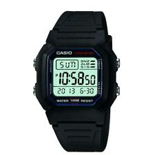 Casio Classic Men's Digital Quartz LED Blacklight Resin 36.5mm Watch W800H-1AV