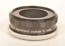 Canon FL Macro Photo Coupler 58mm / Umkehrring Macro Fotografie m.eing. Schnecke
