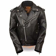Milwaukee Leather Boys Updated Classic Motorcycle Jacket **Beltless** - LKK1920