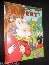 SIGNED JOHN HARROLD RUPERT ANNUAL 1993 - Children's Classic Illustrated Fantasy