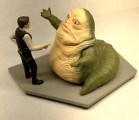 Star Wars Figurine HAN SOLO & JABBA the HUTT Applause Jumbo PVC Figures 1997