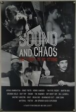 SOUND AND CHAOS: THE STORY OF BC STUDIO ROLLED ORIG 1SH MOVIE POSTER DOCU 2014