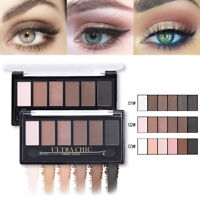 6 Colors Eyeshadow Palette Shimmer Matte Eye Shadow Cosmetic BONNIE CHOICE