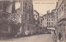 CPA GUERRE 14-18 WW1 VERDUN rue de l'hôtel de ville maison vannesson