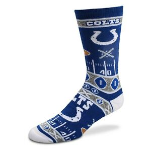 INDIANAPOLIS COLTS SUPER FAN SOCKS MD FOR BARE FEET NEW