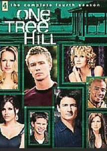 ONE TREE HILL COMPLETE FOURTH SEASON 4 DVD NEW & SEALED RGN 2 BBFC 15 SLIM BOX