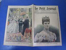 Le petit journal 1901 536 Angleterre Reine Alexandra Hollande mariage reine