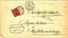 Z19771-MARCHE, BARBARA, COLLETTORIA  PER CASTELLEONE DI SUASA, 1894