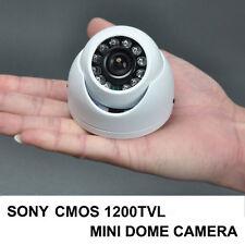 "1/3 "" 1200TVL SONY COMS CCTV Security 12IR Night Vision Outdoor MiNi DOME Camera"