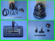 Filter Magic III vacuum + Amazing Powerful + Attachments & filter queen filtrs
