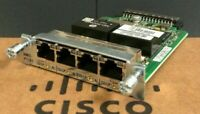 HWIC-4T1/E1 - Cisco T1/E1 High-Speed WAN Interface Card