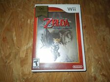 The Legend Of Zelda Twilight Princess (Nintendo Wii, 2006) ***LN***COMPLETE***